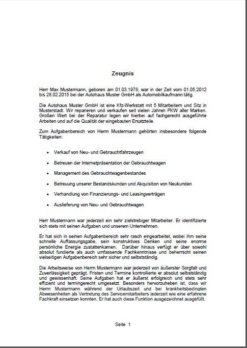Arbeitszeugnis-erstellen-lassen-Seite-1