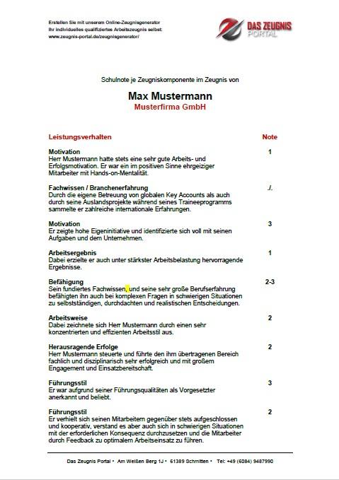 Arbeitszeugnis-pruefen-lassen-mit-Formulierungsvorschlaegen-Seite-1