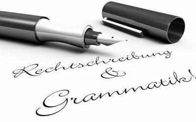 Arbeitszeugnis Rechtschreibfehler und falsche Grammatik